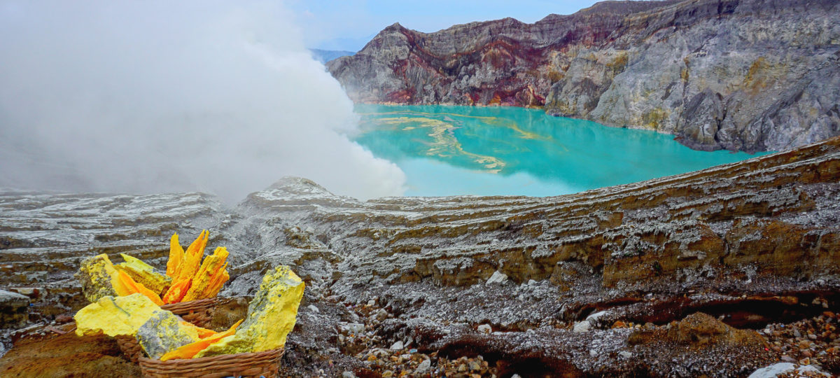 Utopias project - Volcán Ijen, Indonesia 2018