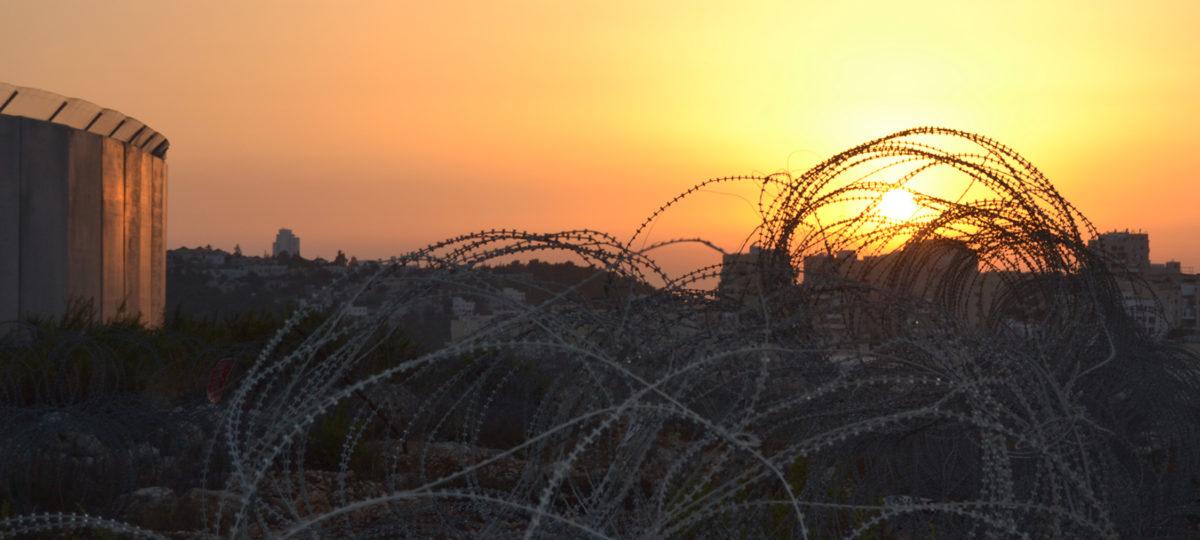 Utopias project - Atardecer en Bi´Lin, Palestina 2013