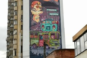 Graffiti Bogotá 2019