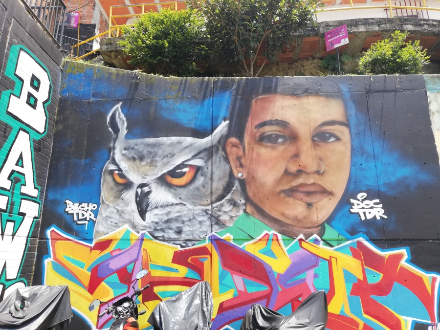 Graffiti Medellín 2019